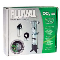 Fluval Pressurised CO2 kit 88g For Aquarium plant food Fish Tank